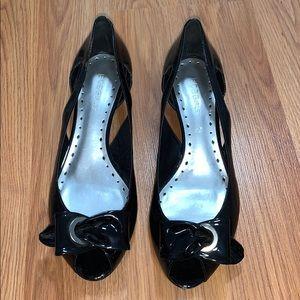 BCBGirls Black Wedged heel